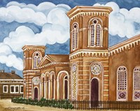 Synagogue Wiznitz Exterior Fine-Art Print