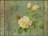 Yellow Rose Painted Fine-Art Print