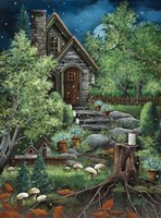 Fairyland and Fireflies Fine-Art Print