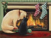 Waiting for Santa Fine-Art Print