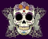 DOD-Flower Skull Fine-Art Print