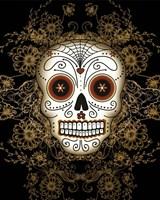DOD-Vintage Sugar Skull Fine-Art Print
