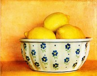 StillLife-Bowl of Lemons Fine-Art Print