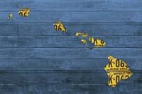 New Hawaii Map Fine-Art Print