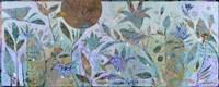 Three Birds In The Garden Fine-Art Print