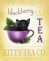 Blackberry Tea Cat Fine-Art Print