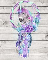 Unicorn Dream Catcher Fine-Art Print