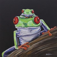 Tree Frog Baby Love Fine-Art Print