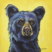 Black Bear Bernard Fine-Art Print