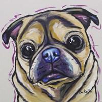 Pug Josephine Fine-Art Print