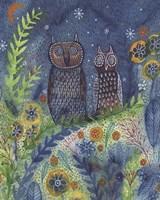 Two Owls Fine-Art Print