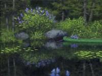Tranquil Pond Fine-Art Print