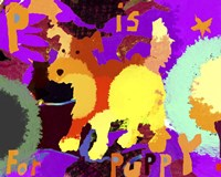 P Is For Puppy Fine-Art Print