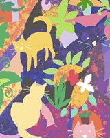 Cat Shapes Fine-Art Print