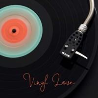 Spinning Record Vinyl Love Fine-Art Print