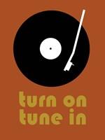 Tune on Turn In B Fine-Art Print