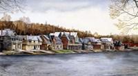 Boat House Row Fine-Art Print