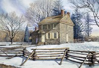 Winter At Valley Forge Fine-Art Print
