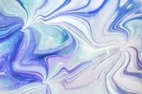 Fluid Acrylic Blue Turquoise Fine-Art Print
