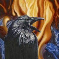 Raven Fire Fine-Art Print