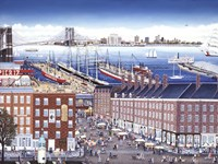 SouthStreet Seaport Fine-Art Print