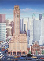 GE Building NYC Fine-Art Print