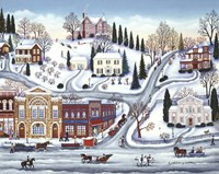 Winter Town Fine-Art Print