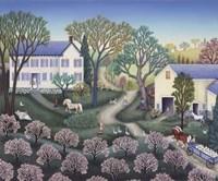 Spring Farm Fine-Art Print