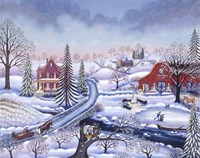 Snowy Afternoon Fine-Art Print