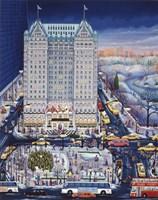 Winter Plaza Fine-Art Print