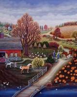 Autumn Farm Fine-Art Print