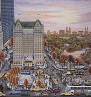 Autumn Plaza Fine-Art Print