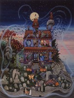 Haunted House Fine-Art Print