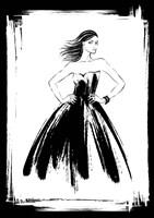 Black Lady Fine-Art Print