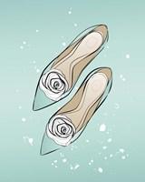 Mint Shoes Fine-Art Print