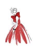 Red Lady Fine-Art Print