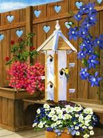 Mothers Day Birdhouse Fine-Art Print
