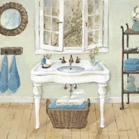 French Country Bathroom I Fine-Art Print