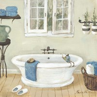 French Country Bathroom II Fine-Art Print