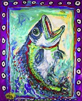 MAD Largemouth Bass Fine-Art Print