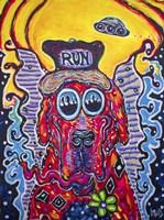 Run Dog Fine-Art Print