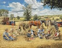 Harvest Lunch Fine-Art Print
