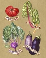Farmer's Market Veggies Fine-Art Print