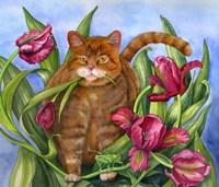Tango In The Tulips Fine-Art Print
