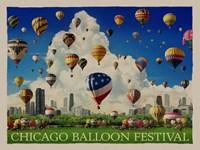 Chicago Baloon Fest Fine-Art Print