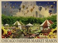 Chicago Farmers Market Fine-Art Print