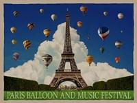 Paris Balloon Music Fest Fine-Art Print