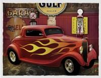 Route 66 Garage Fine-Art Print