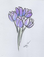 Purple Tulips Fine-Art Print