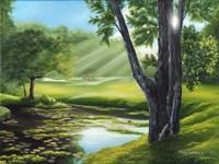 Morning Dew on the Green Fine-Art Print